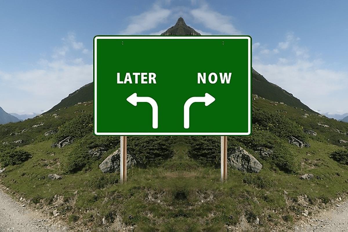 procrastinare i problemi nei progetti