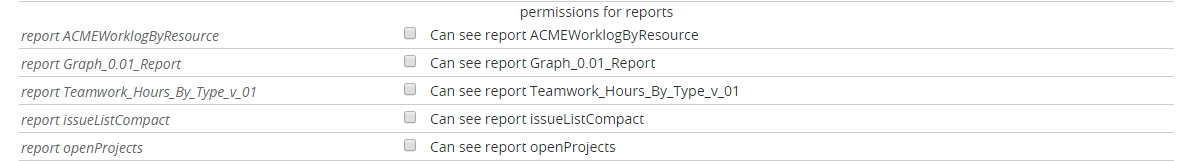Write your own report | Twproject support